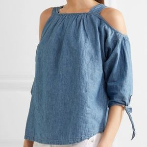 Madewell Cold Shoulder Top